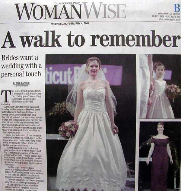 Connecticut Post Newspaper Article From February 4 2004